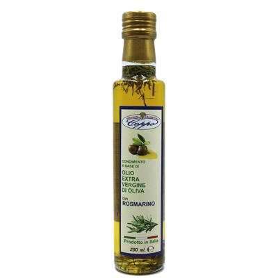 Huile d'olive extra vierge aromatisée au romarin - 250 ml