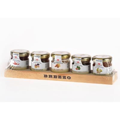 Collection 5 Confiture pour fromages, Naturel, de Qualité 100% italienne - 200 gr - Brezzo