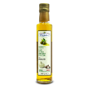 Huile d'olive extra vierge aromatisée à l'ail - 250 ml